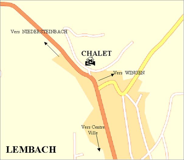 situation du Chalet