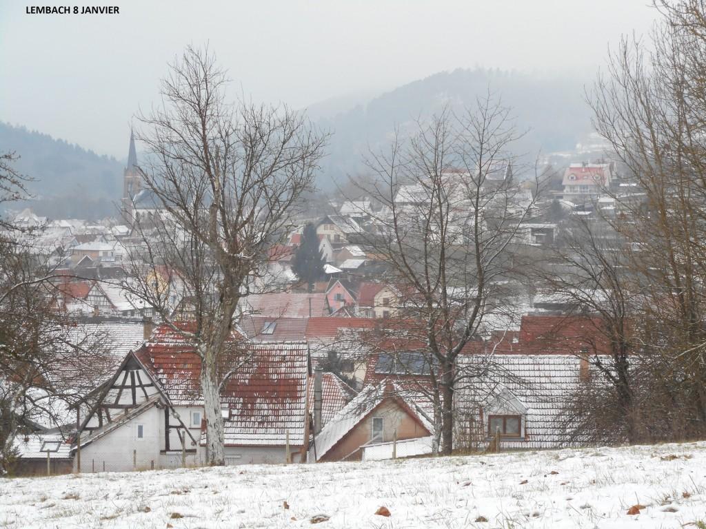 Lembach sous la neige